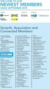 Brandev EMEA in Toronto Board of Trade Newest Members